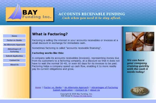 Bay Funding Website - San Jose, CA
