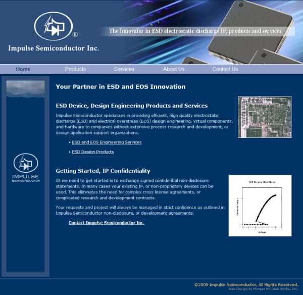 Impulse Semiconductor Website - San Jose, CA