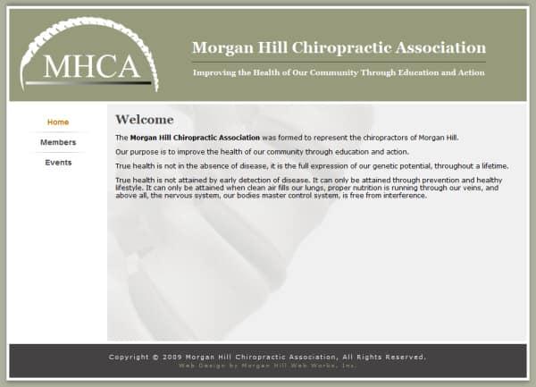 Morgan Hill Chiro Website - Morgan Hill, CA