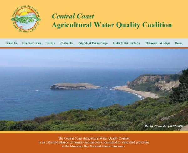 Central Coast AG Water Quality Website - Capitola, CA