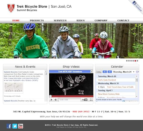 Trek Bicycle Store | San Jose Website - San Jose, CA