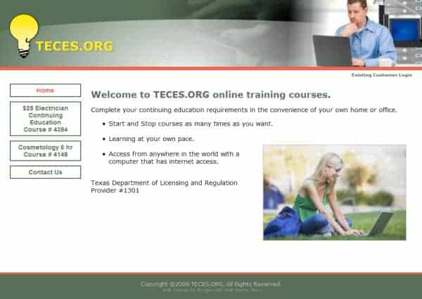 Texas Electrical Continuing Educational Website - Cincinnati, OH