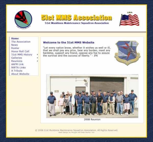 51st MMS Association Website - San Jose, CA