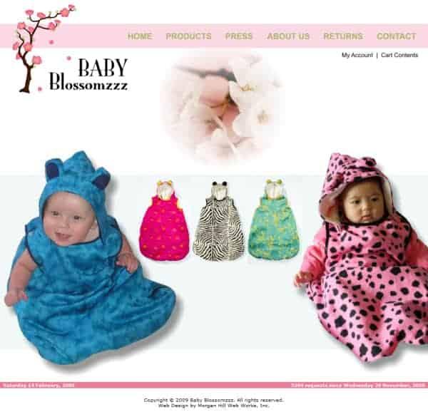 Baby Blossomzzz Website - Hayward, CA