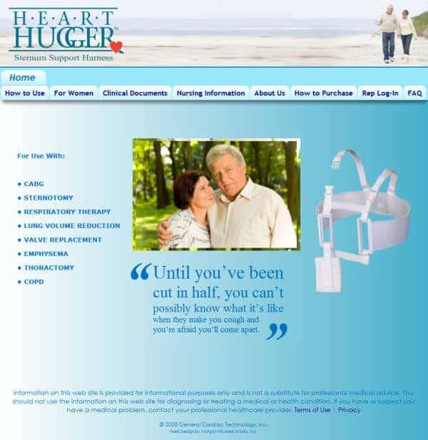 Hearthugger Website - Los Gatos, CA