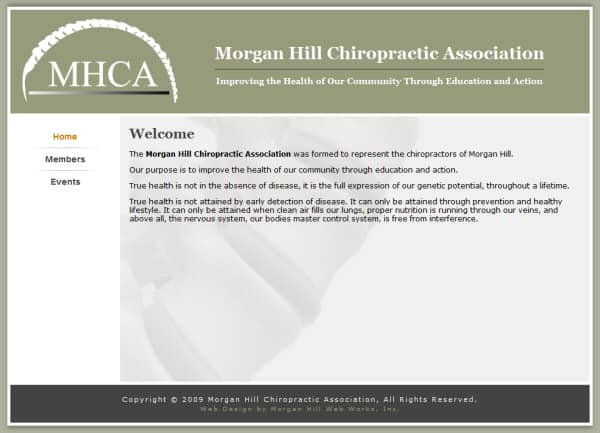 Morgan Hill Chiro Website - Morgan Hill, CA