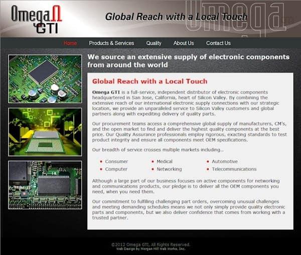 Omega GTI Website - San Jose, CA