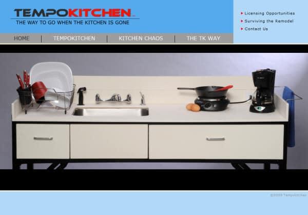 TempoKitchen Website