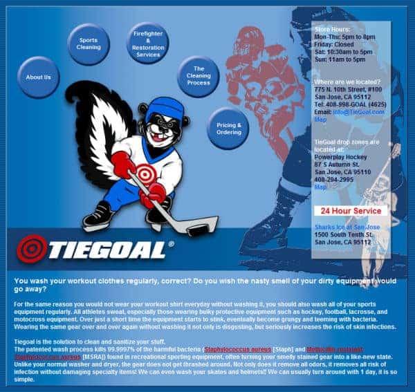 Tiegoal Website - San Jose, Ca