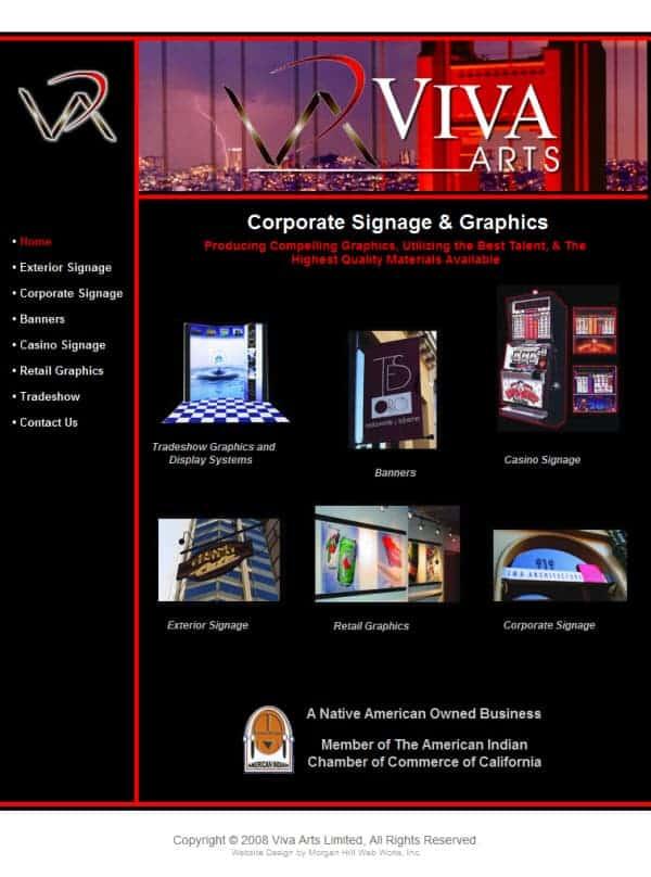 Viva Limited Website- San Francisco, CA